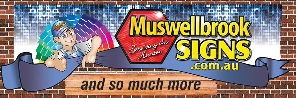 Muswellbrook Signs