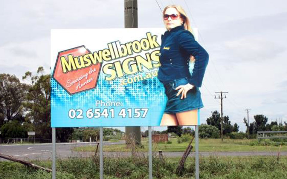 Muswellbrook Signs Billboard